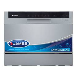 JAMES Lavavajilla Compacto LCVM 6CD INOX