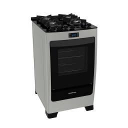 PUNKTAL Cocina Multigas Encanto Glass Inox PK-735