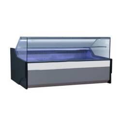 KUMA Vitrina Refrigerada Vidrio Recto con Bodega BSS1590RG