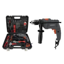 GLADIATOR PRO Taladro Percutor TP4136220K kit herramientas