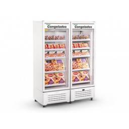 REFRIMATE Freezer Vertical 2 Puertas Vidrio 1300L VCCG1340V