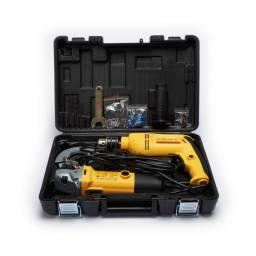GOLDEX Kit Amoladora 4 1/2 + Taladro 1/2 PTK02A 22670