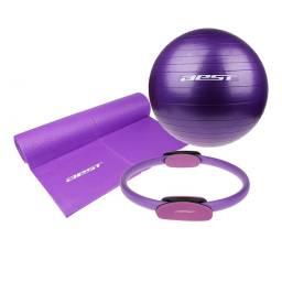 BEST Set de Pilates 130094 - Mat + Pelota + Ring / 7282