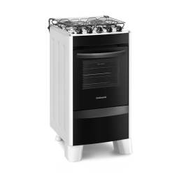 CONTINENTAL Cocina a Gas CO-FC4CB 4 hornallas Blanco