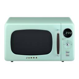 JAMES Microondas RETRO J 20 RV AQUA MINT