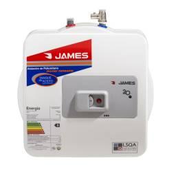 JAMES Termotanque 20 LTS Prisma Acero Salida Superior - B