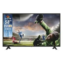 ENXUTA Televisor LED SMART 58 UHD 4K LEDENX58S4K Android