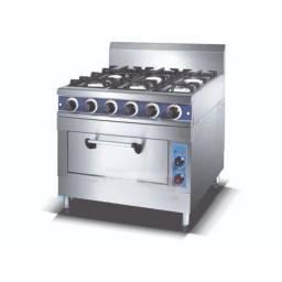 KUMA Cocina Comercial Inox 6 Hornallas HGR-6G