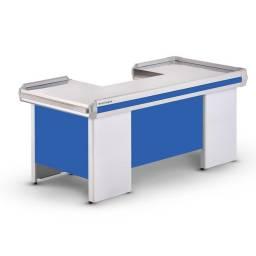 REFRIMATE Check Out Pasillo de Caja COTE2050 2050x1000x880