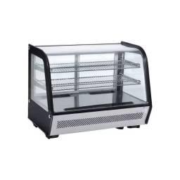 KUMA Vitrina Sobre Mostrador Refrigerada CW-160 Vidrio Curvo