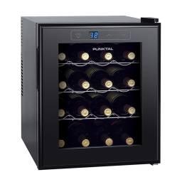 PUNKTAL Cava Enfriadora de Vinos 16 botellas PK-EV16