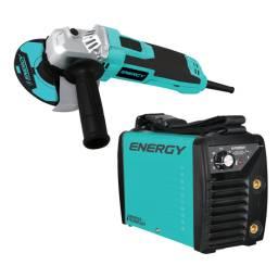 ENERGY Soldadora Amoladora  I120/200-AG15/3/220