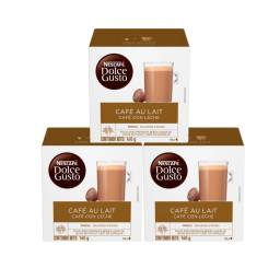 Dolce Gusto Capsulas x48 Pack Cafe Au Lait