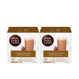 Dolce Gusto Capsulas x32 Pack Cafe Au Lait