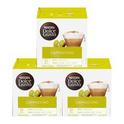 Dolce Gusto Capsulas x48 Pack Cappuccino