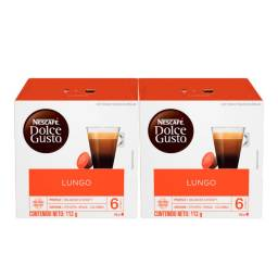 Dolce Gusto Capsulas x32 Pack Lungo