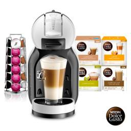 Dolce Gusto Cafetera Pack MINI ME + 64 capsulas