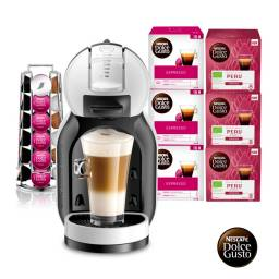 Dolce Gusto Cafetera Pack MINI ME + 84 Capsulas