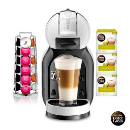 Dolce Gusto Cafetera Pack MINI ME + 3x2 Cappuccino