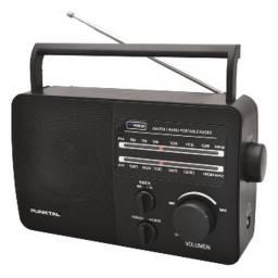 PUNKTAL Radio corriente y pila AM FM PK-96AC