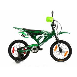 BACCIO MOTORBIKE 16 Verde 7417