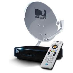 DIRECT TV KIT Pre Pago Antena Caja Amarilla